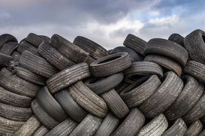 Tyre Pile Supporting