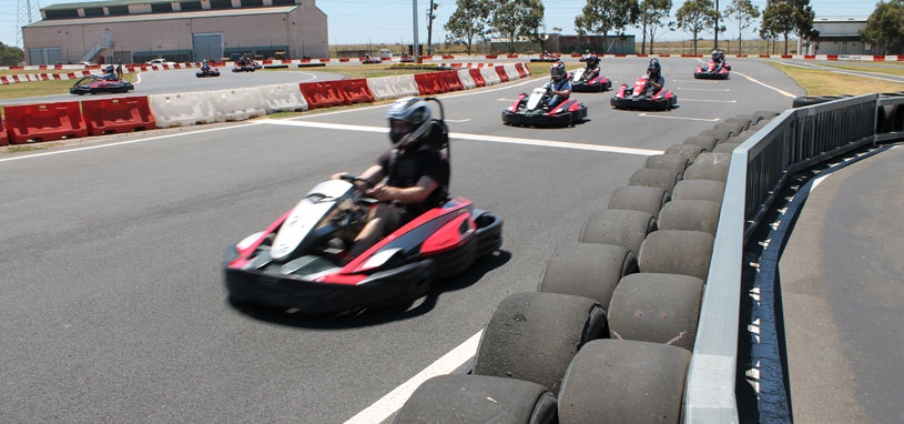 fathers day go karting melbourne