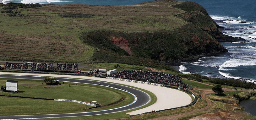 the bst race tracks in melbourne and australia phillip island circuit